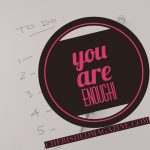 #TBT - You are Enough plus Giveaway