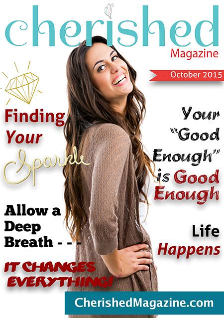 Cherished Magazine October 2015 - Magazine for Christian Woman