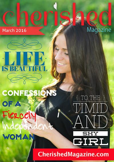 Cherished Magazine March 2016 - Christian Magazine