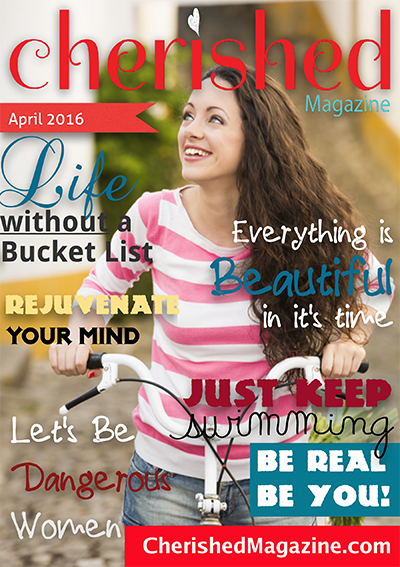 April Issue Cherished Magazine