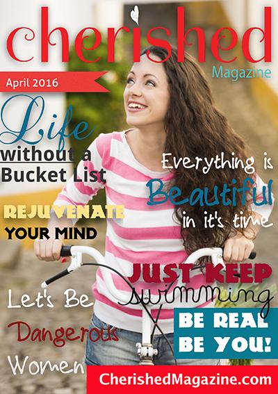 April Issue Cherished Magazine