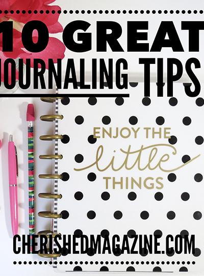 Journal Tips Cherished Magazine