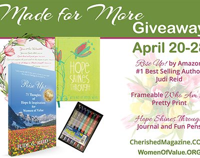 Made for More Giveaway Women of Value
