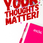 Your Thoughts Matter + a Giveaway