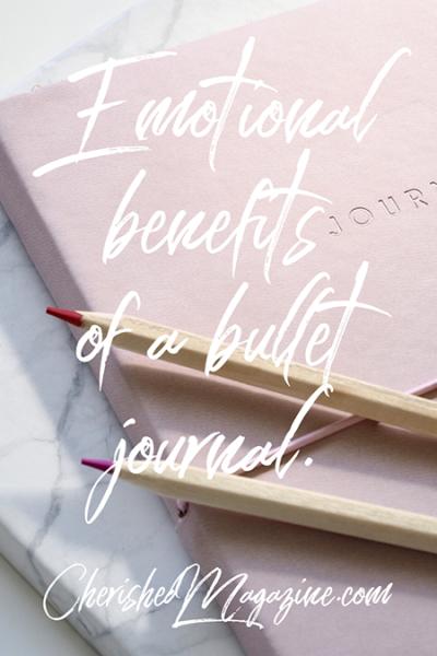 Emotional Benefits of Bullet Journal
