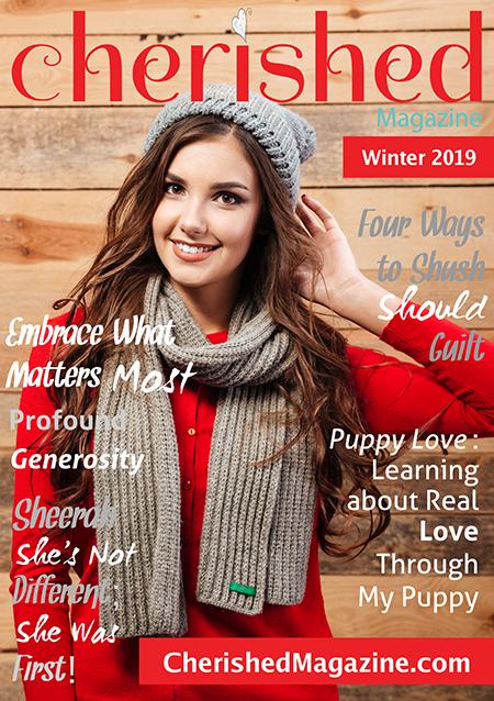 Cherished Magazine Winter 2019 - A Christian Women Magazine